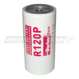 Racor R120P Spin On Filter - 30 Micron Red