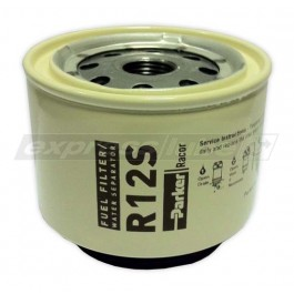 Racor R12S Spin On Filter - 2 Micron Brown