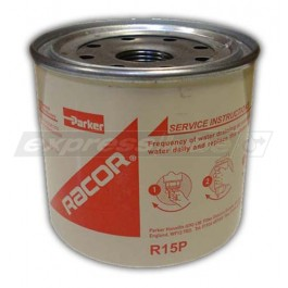 Racor R15P Spin On Filter - 30 Micron Red