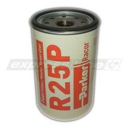 Racor R25P Spin On Filter - 30 Micron Red