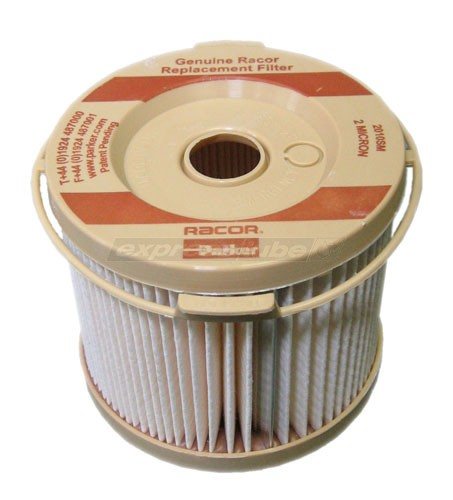 racor fuel filter elements racor filter element 2010sm-or - 2 micron brown