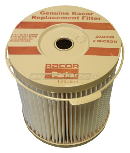 racor filter element 2040sm-or - 2 micron brown racor fuel filter cross reference