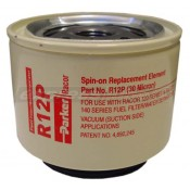 Racor R12P Spin On Filter - 30 Micron Red